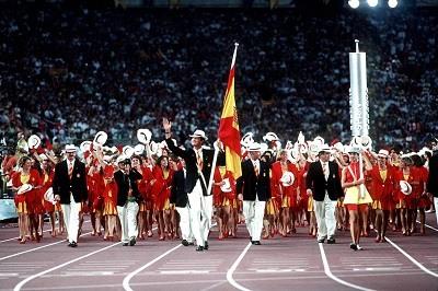 Ceremonia inaugural de Barcelona 92