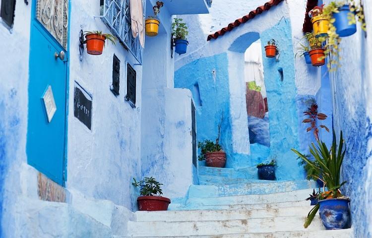 Chaouen o Chefchaouen Conocida como La Ciudad azul