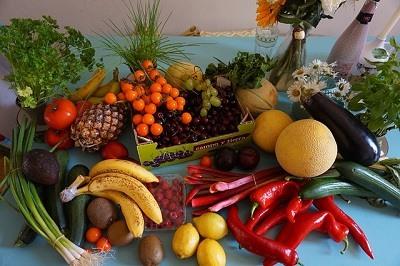 Comer frutas y verduras para combatir el colesterol malo