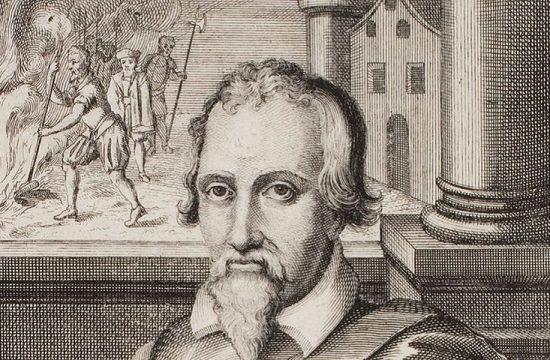 El científico espanol Miguel Servet