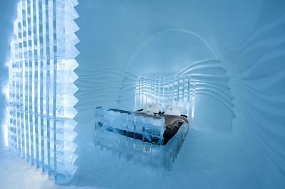 Habitaciones del IceHotel en Suecia