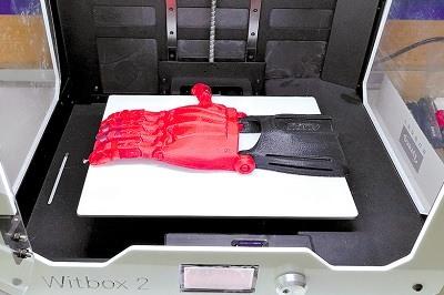 Protesis en impresora 3D