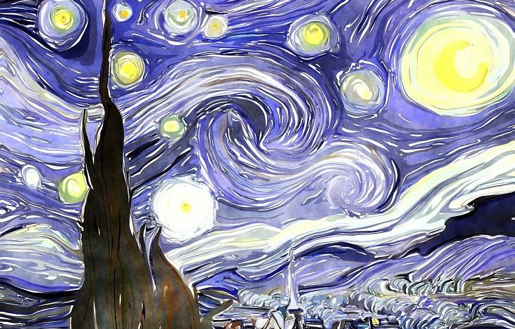 Lo que no sabIas sobre La Noche Estrellada de Van Gogh