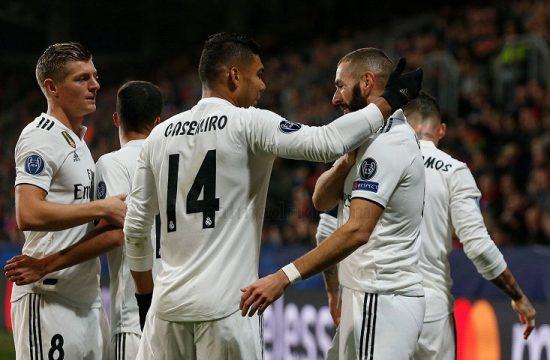 El Real Madrid vence con facilidad a un debil Viktoria Plzen