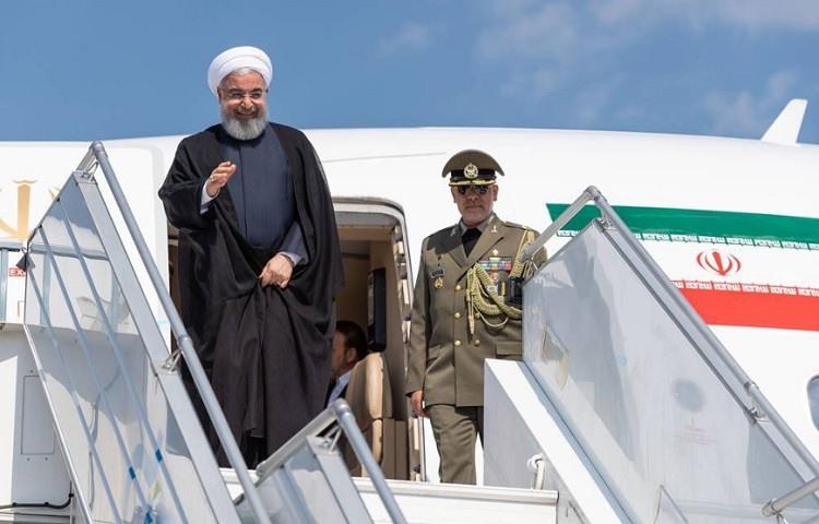 El presidente de Iran, Hassan Rohani