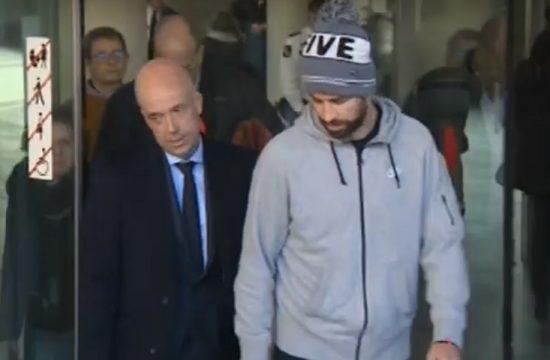 Pique es condenado a pagar una multa de 48.000 euros por conducir sin puntos en el carnet