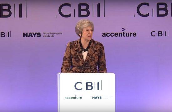 Theresa May logra el apoyo de los empresarios britanicos a su acuerdo del Brexit