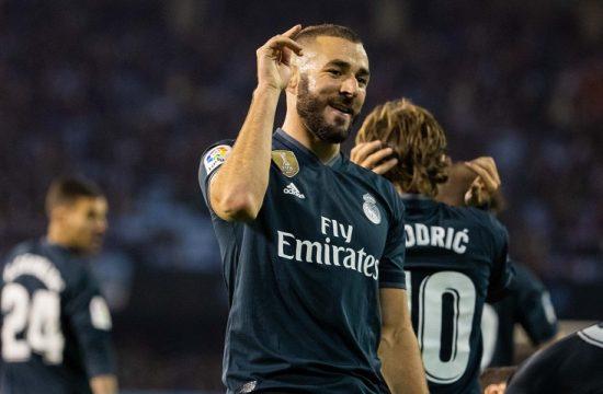 Un brillante Benzema afianza en el renacimiento del Real Madrid en Balaidos