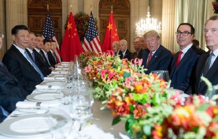 Donald Trump y Xi Jinping g20