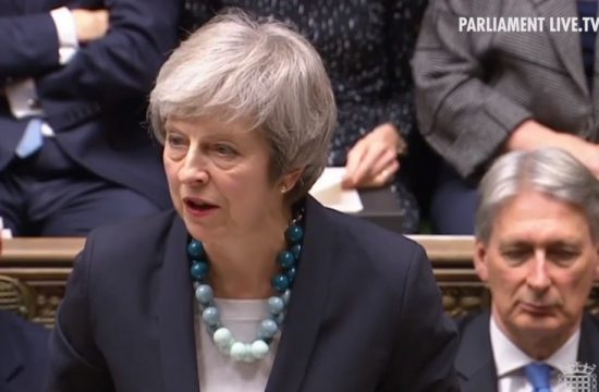 May quiere renegociar el acuerdo del Brexit con la UE
