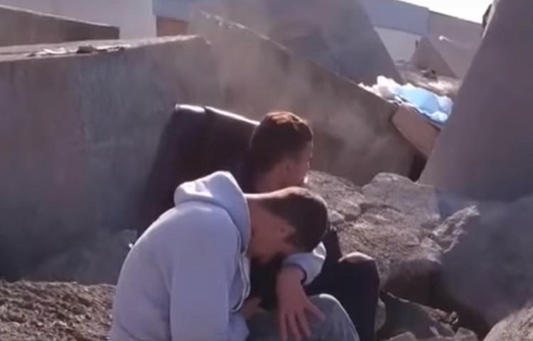 Menores inmigrantes marroquies que suenan con llegar a Europa