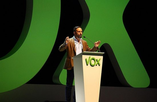 Santiago Abascal, lider de Vox