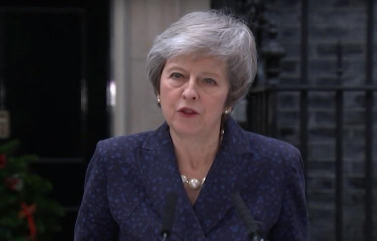 Theresa May se enfrenta a un voto de no confianza en su partido