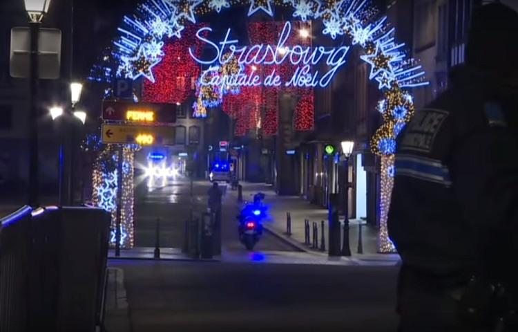 Tiroteo en Estrasburgo