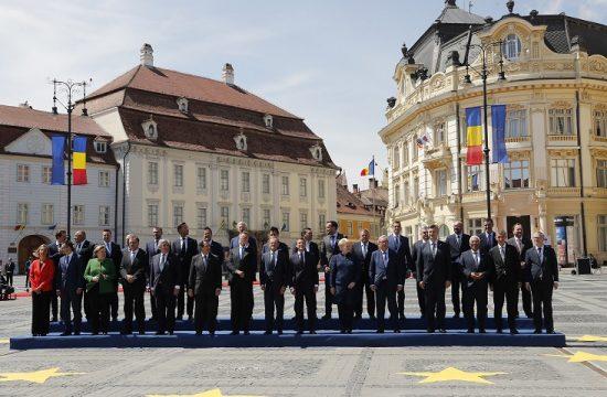 Cumbre lideres UE