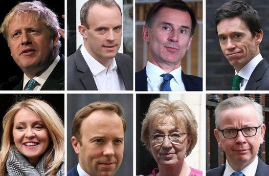 Candidatos Tory