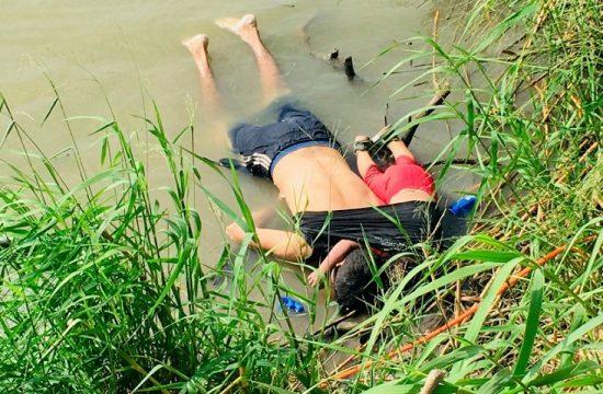 Padre e hija inmigrantes ahogados