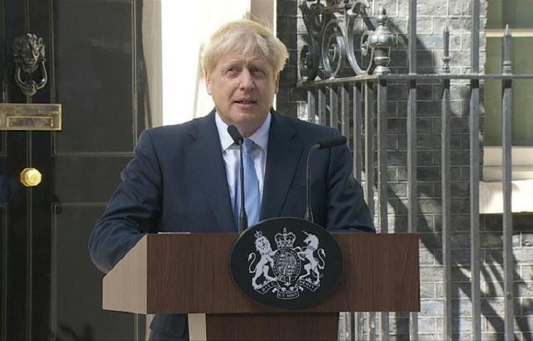 Boris Johnson primer ministro