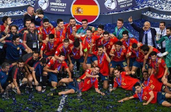 Espana campeon Eurocopa sub 21