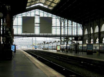 Estacion de tren en Francia
