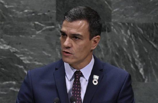 Sanchez en la ONU