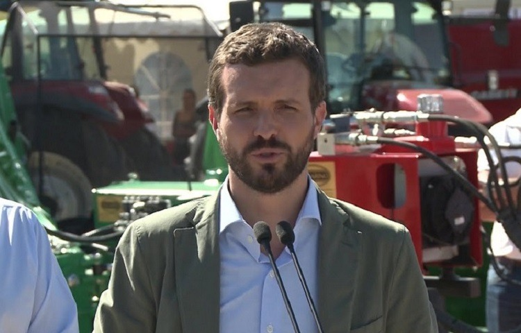 Pablo Casado en Zafra (Badajoz)