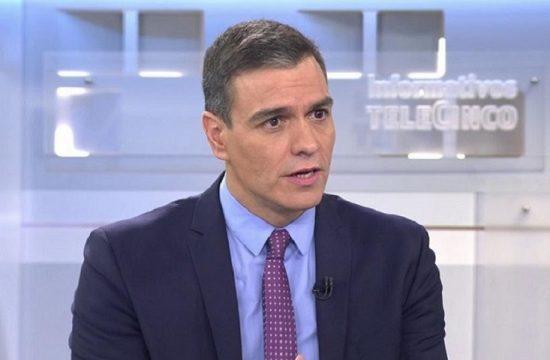 Pedro Sanchez Telecinco