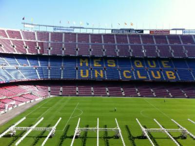 Estadio de futbol FC Barcelona
