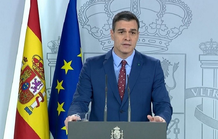 Sanchez presenta a los 22 miembros del Gobierno