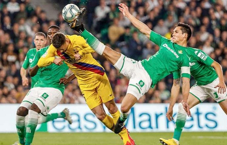 Barcelona y Betis