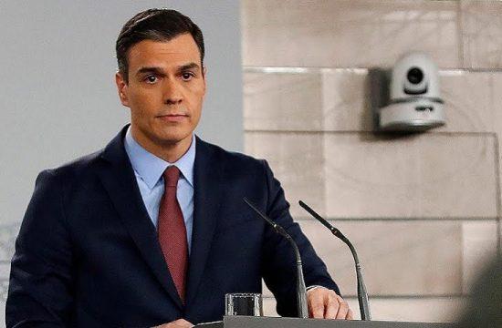Pedro Sanchez Coronavirus