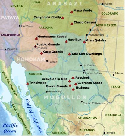 Geografía de Oasisamérica