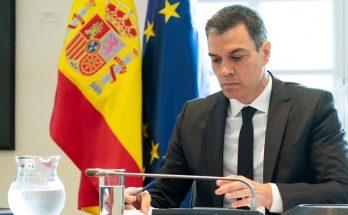 Pedro Sanchez Mayo 2020