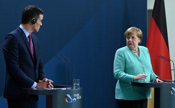 Sanchez Merkel