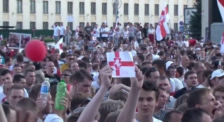 Manifestacion Bielorusia