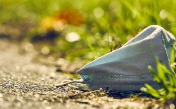 Contaminación de las mascarillas desechables